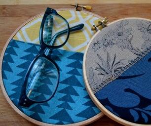 No Sew Fabric Wall Pocket