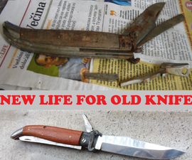 Restore an Old Hunting Pocket Knife