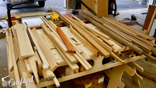 Break Down Scraps Into Cutting Board Blanks