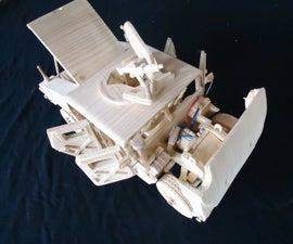 Wooden Hummer H1 Model