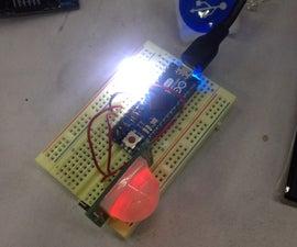 Arduino Motion Sensor Control Led Light