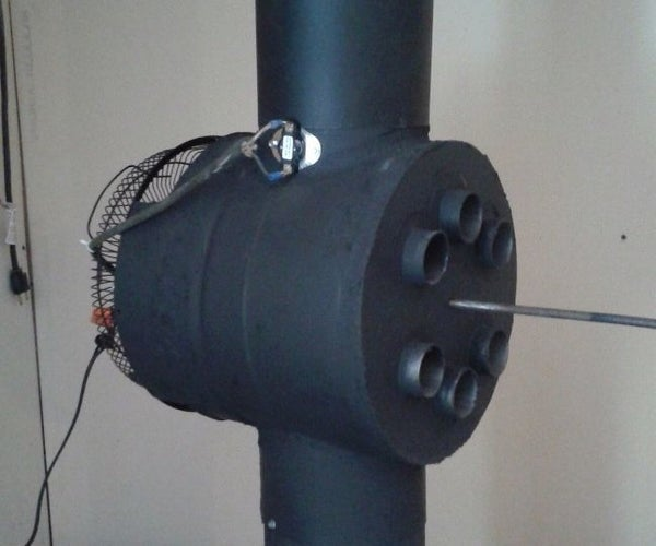 Wood Stove Heat Reclaimer