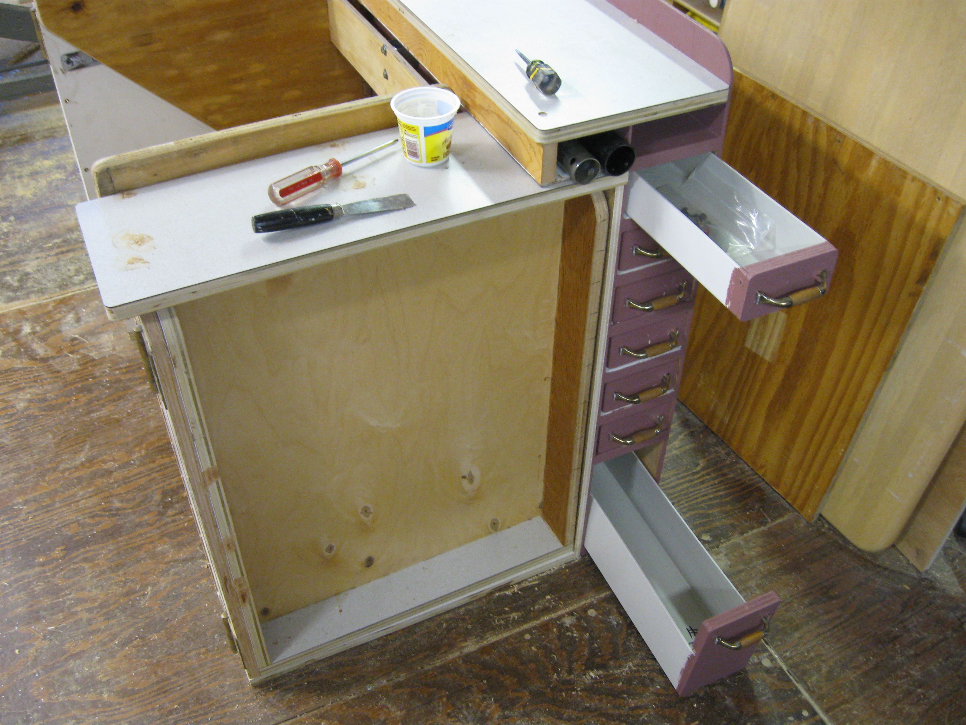 Picture of PVC Post Cover Drawers. (2)
