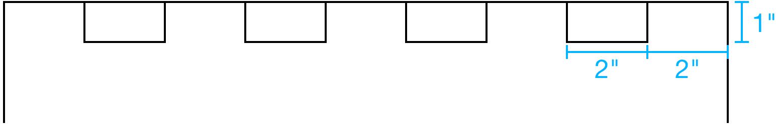 Picture of Optional – Cut Castle Notches