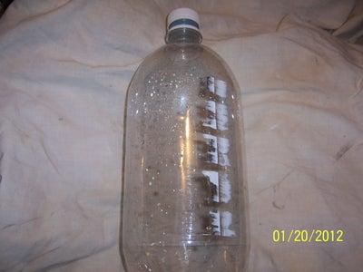 Get a Plastic 2-3 Liter Soda Bottle