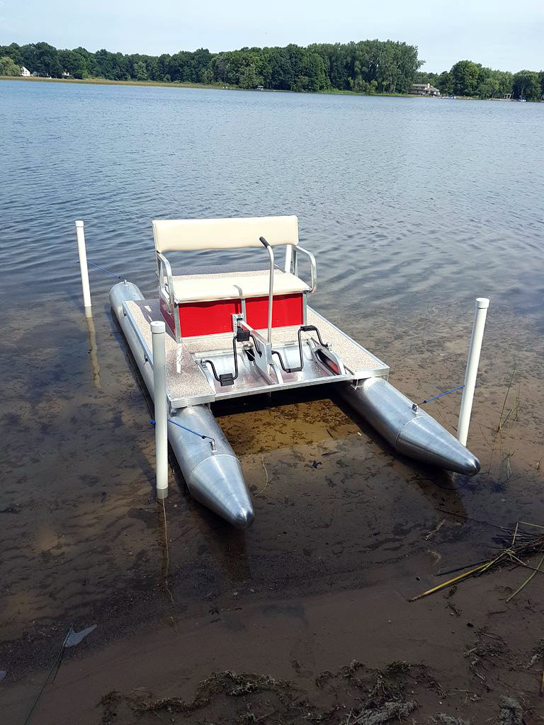 Picture of Cheap & Easy Docking Bay for a Small Watercraft