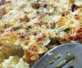 Strata Casserole, A Great Hangover Breakfast