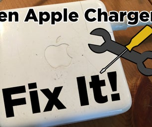 DIY Fix for Your Broken Apple Laptop Charger!