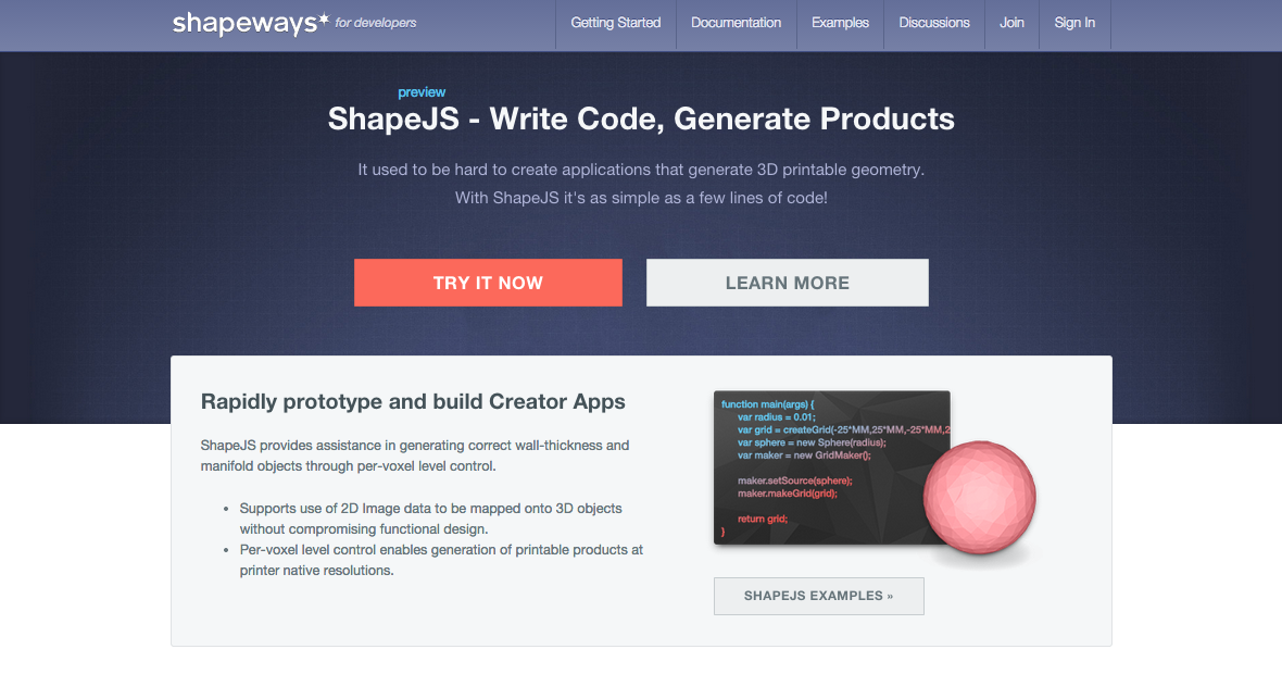 Picture of Getting Started With ShapeJS