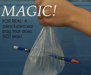 Pencil-pierced Bag That Doesn't Leak! Try It Now!