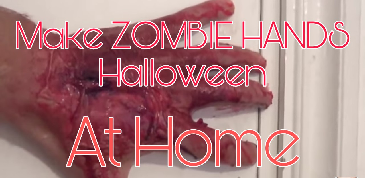 Picture of How to Make ZOMBIE HANDS for Halloween at Home