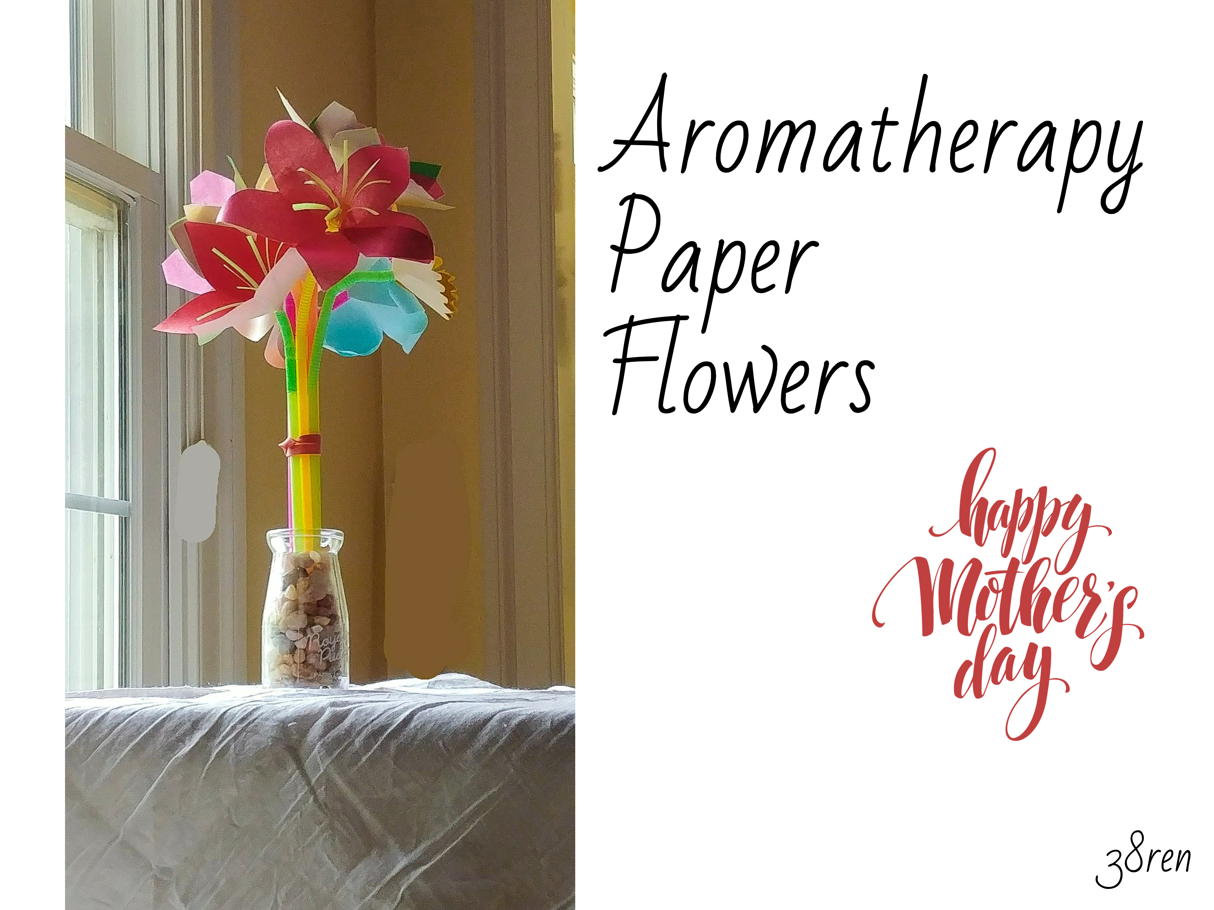 Picture of Aromatherapy Paper Flowers