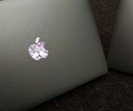 Customise Apple logo for Macbooks