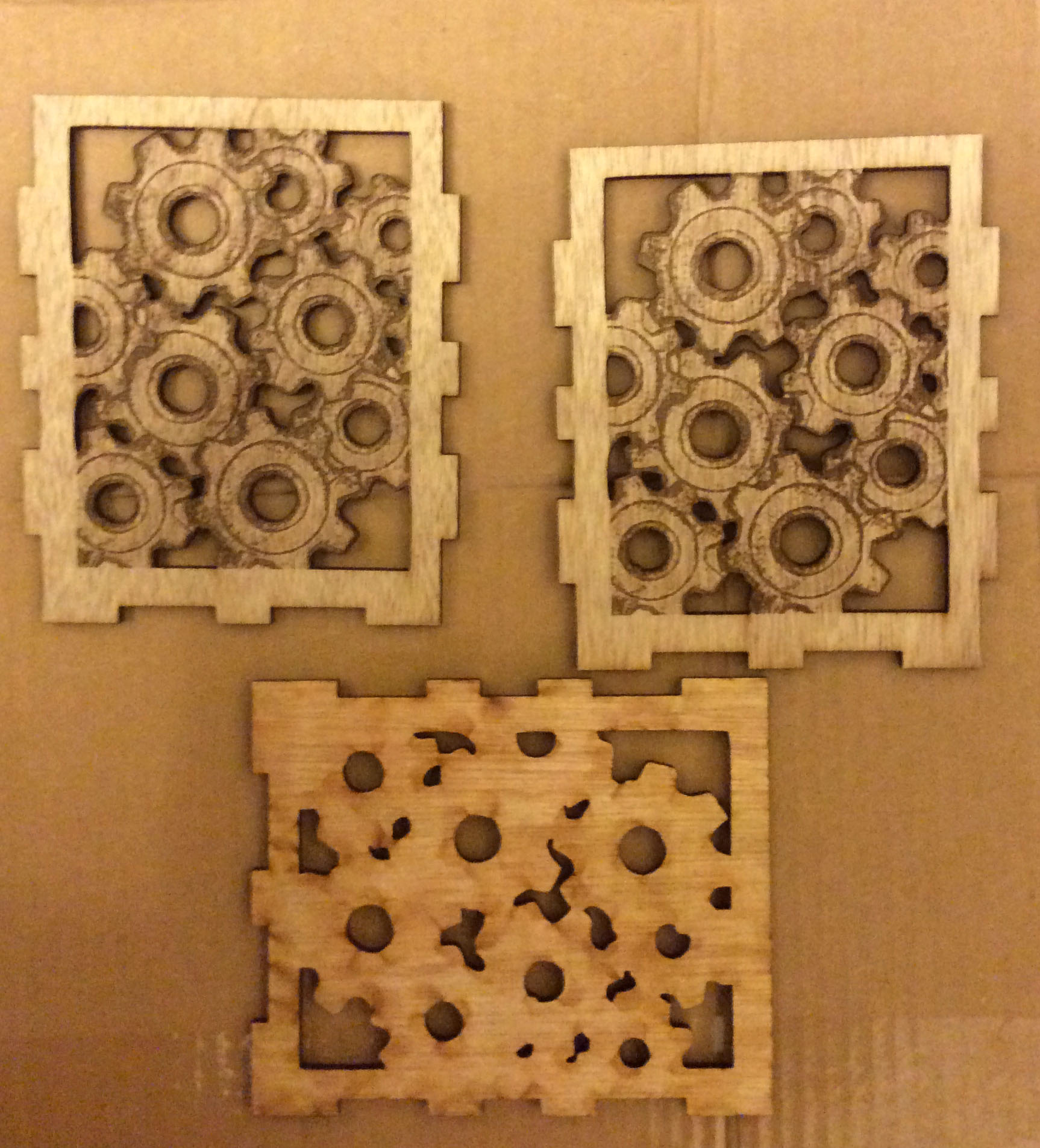 Picture of LASER CUT WOOD