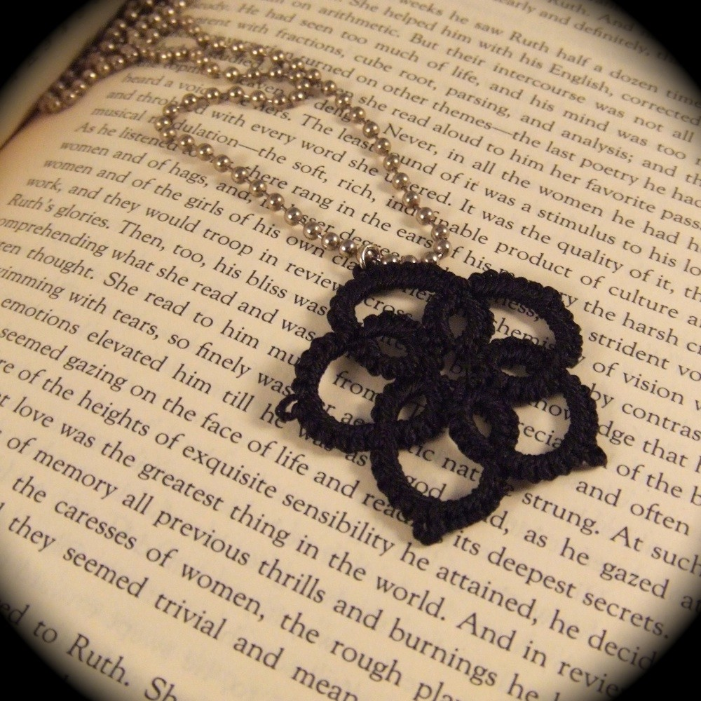 Picture of Learn Needle Tatting With My Flower Pendant
