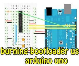 Burning Bootloader to ATMEGA328p Using Arduino in 2min