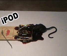 How to Recycle a Mouse Trap- turn it into an Ipod Stand!