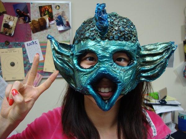 Creating Any Shape Papier Mâché Mask