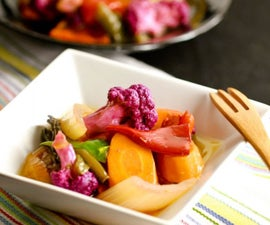 Giardiniera--Basic Italian Pickled Veggies (Super Tasty)
