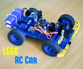 LEGO RC Car A.k.a Mark III