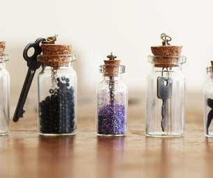 Personalized Bottle Necklaces
