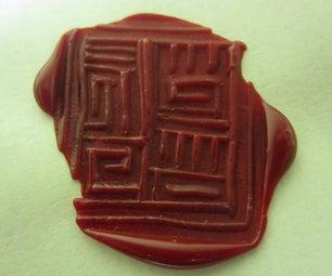 Sugru Wax Seal Stamp