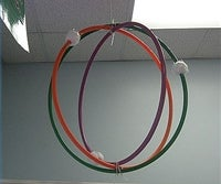 How to Make a Model of an Atom Out of Hula Hoops