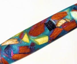 Scrap Wood Epoxy Resin Custom Pen