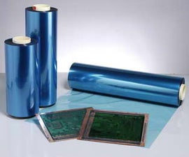 Dry Film Photopolymer for making circuit boards