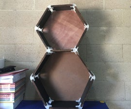 How to Make Honeycomb Shelves