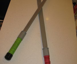 How to make a sturdy Ninja sword for Halloween