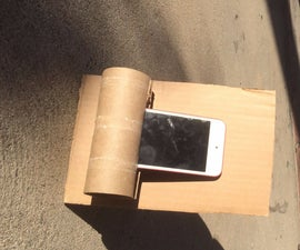 Toilet Paper Roll Phone Mount