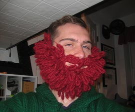 Knitted Beard