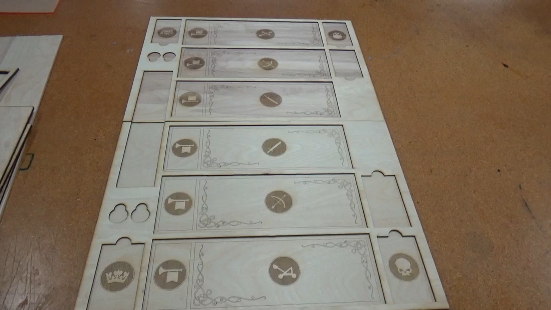 Picture of Cut the Pieces on the Laser Cutter