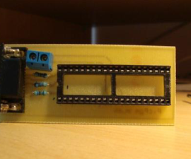 Simple 3 Resistor PIC Programmer