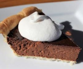 Chocolate Fudge Pie (gluten/dairy free)