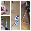 DIY Nano-Cache Bobby-Pin Log-Extractor