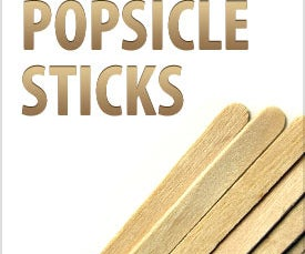 Weekly Challenge: Popsicle Sticks