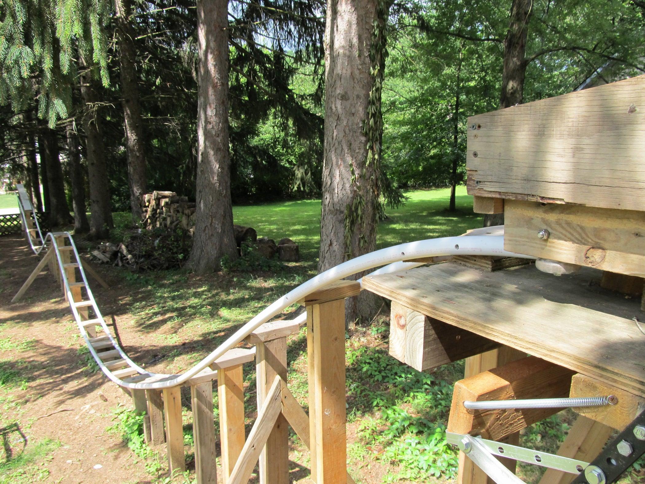 Backyard Roller Coaster - Instructables