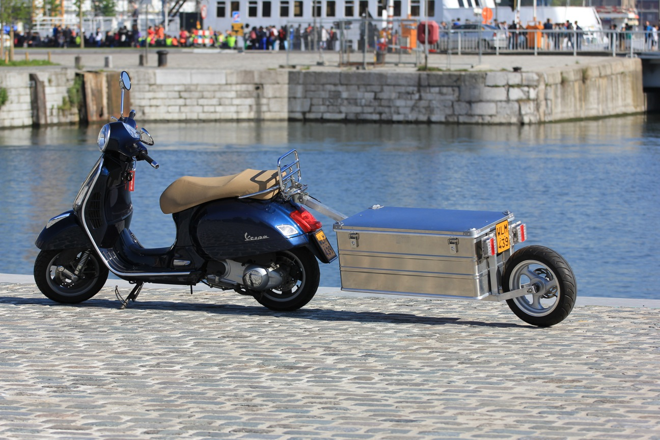 Picture of Trailer for Vespa Scooter