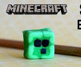 DIY Minecraft Slime Eraser