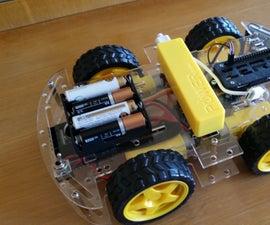 Raspberry Pi Zero W Based Robot