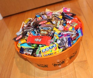 Candy Bowl Secret Compartment