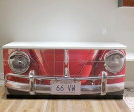 Reclaimed VW Desk: a Unique Gift!
