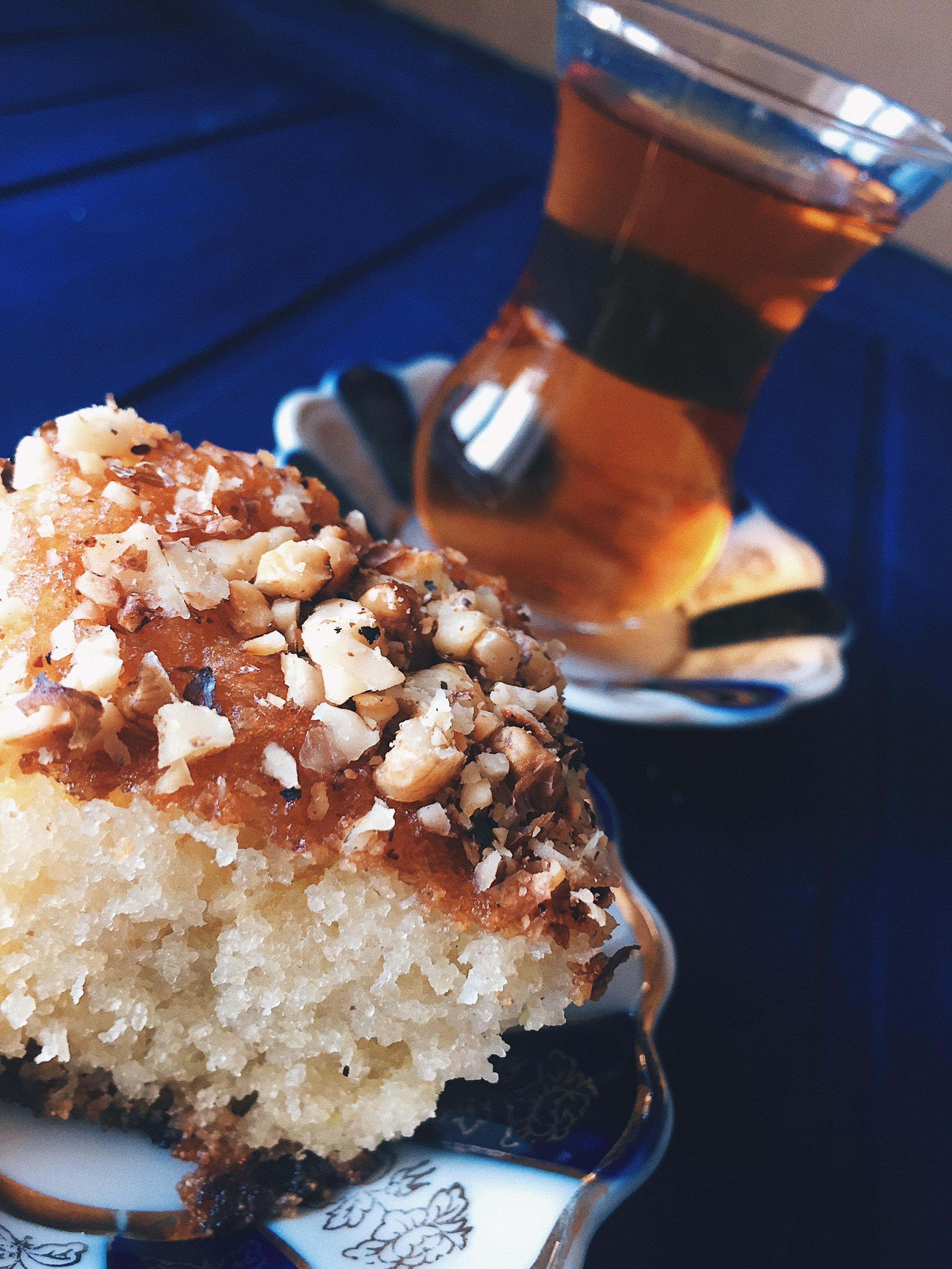 Picture of Arabian Delight Basbusa (semolina Cake)