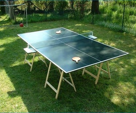 How to Build a Ping Pong Table