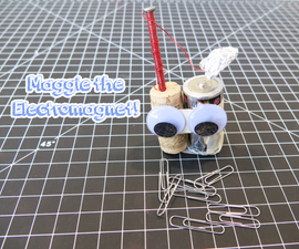 Maggie the Simple Electromagnet!