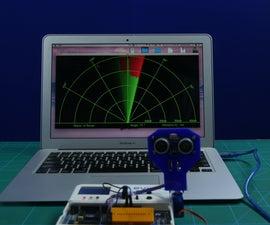 Make a Radar Using Ultrasonic Sensor Using Arduino