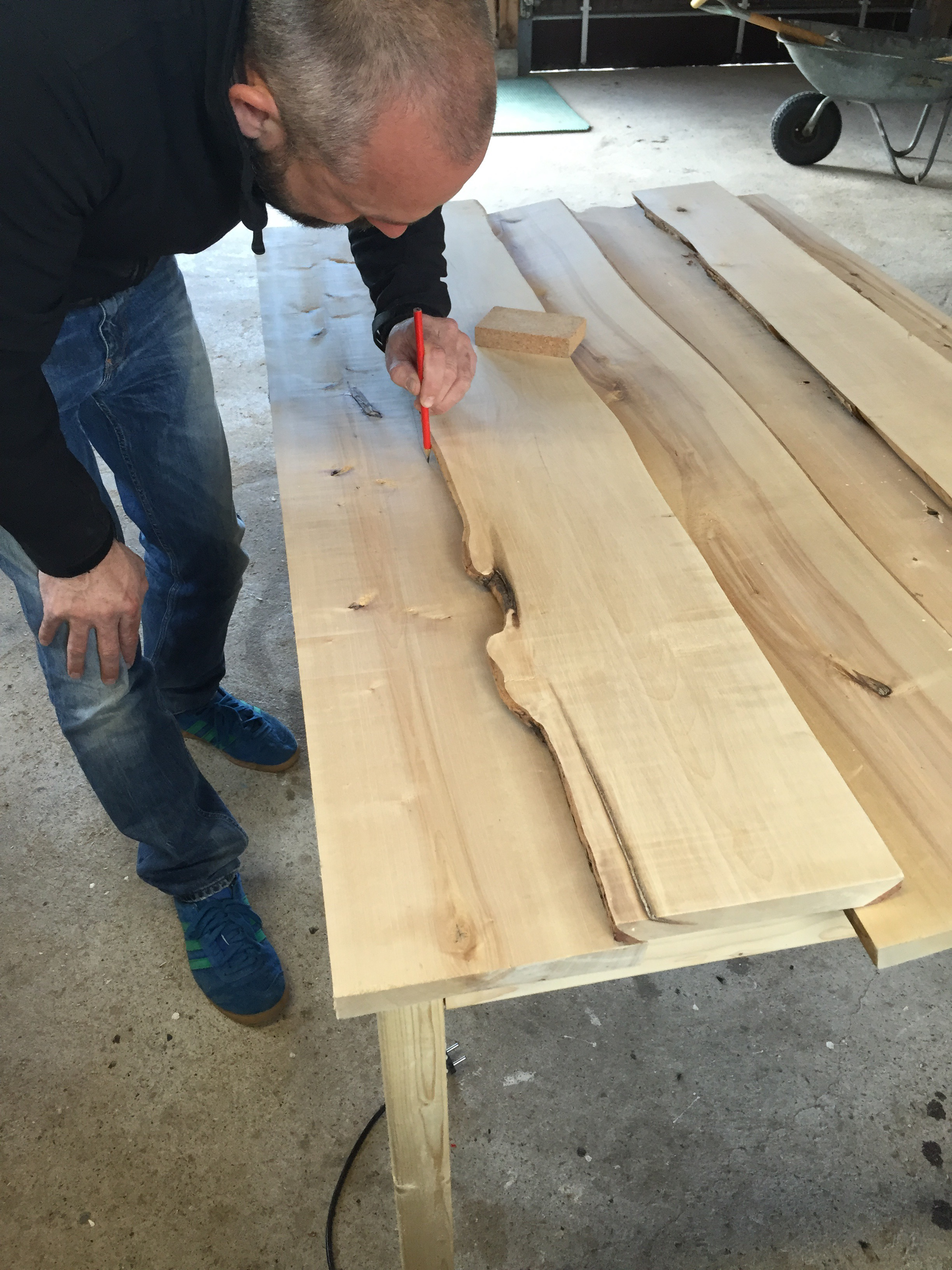 Picture of Measuring and Sawing