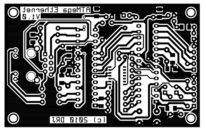 Picture of The PCB Layout